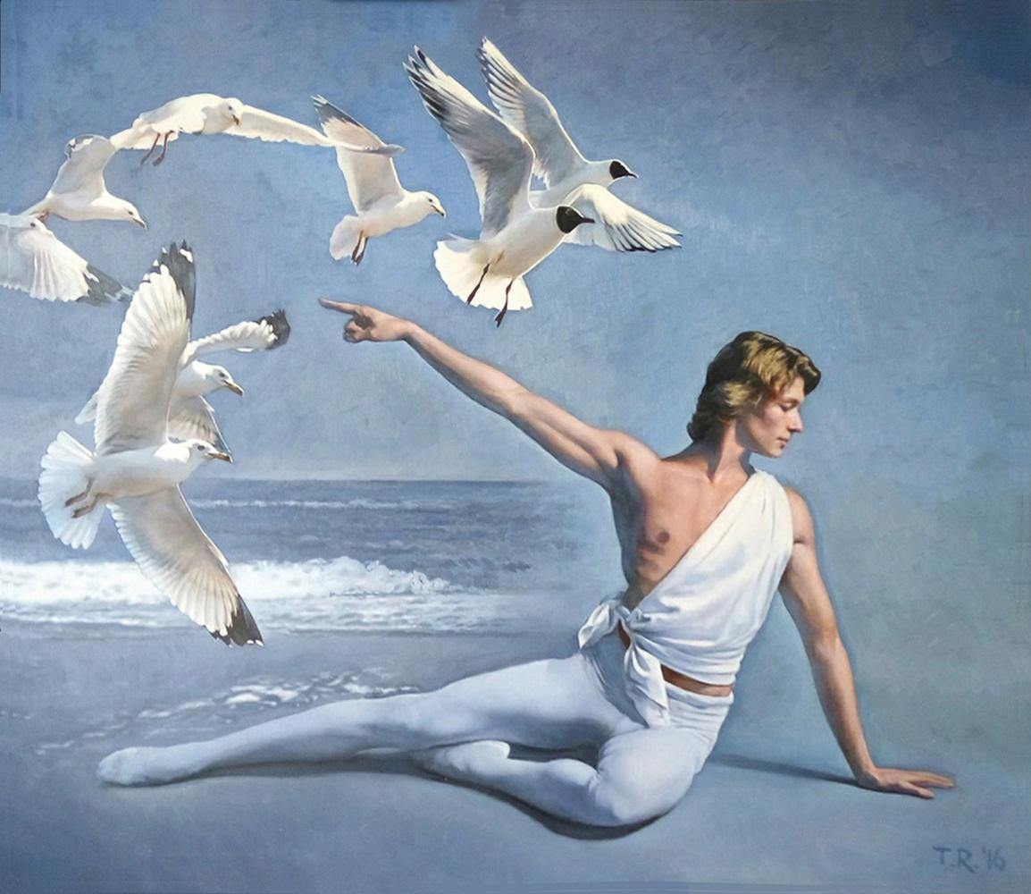 Tatiana Rezvaya. DANCING WITH SEAGULLS / APOLLO THE AGUR
