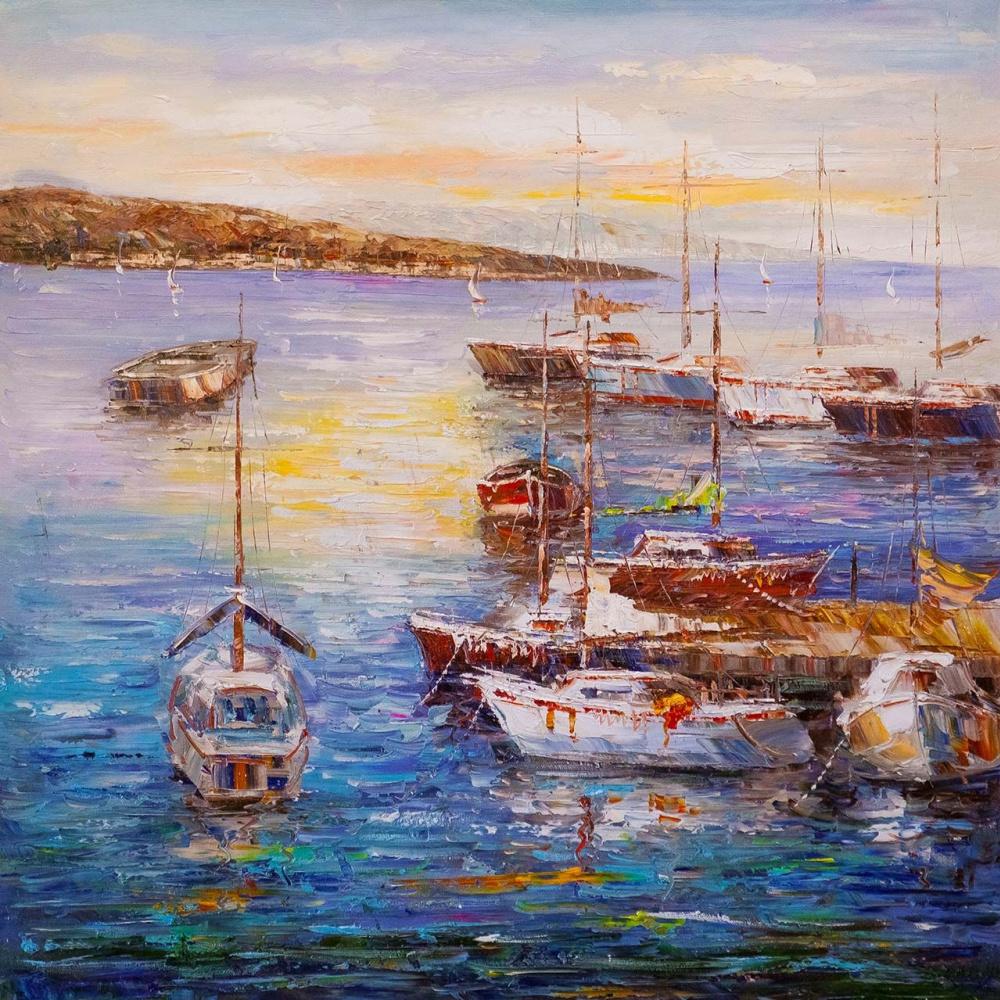 (no name). Boats at the pier N3