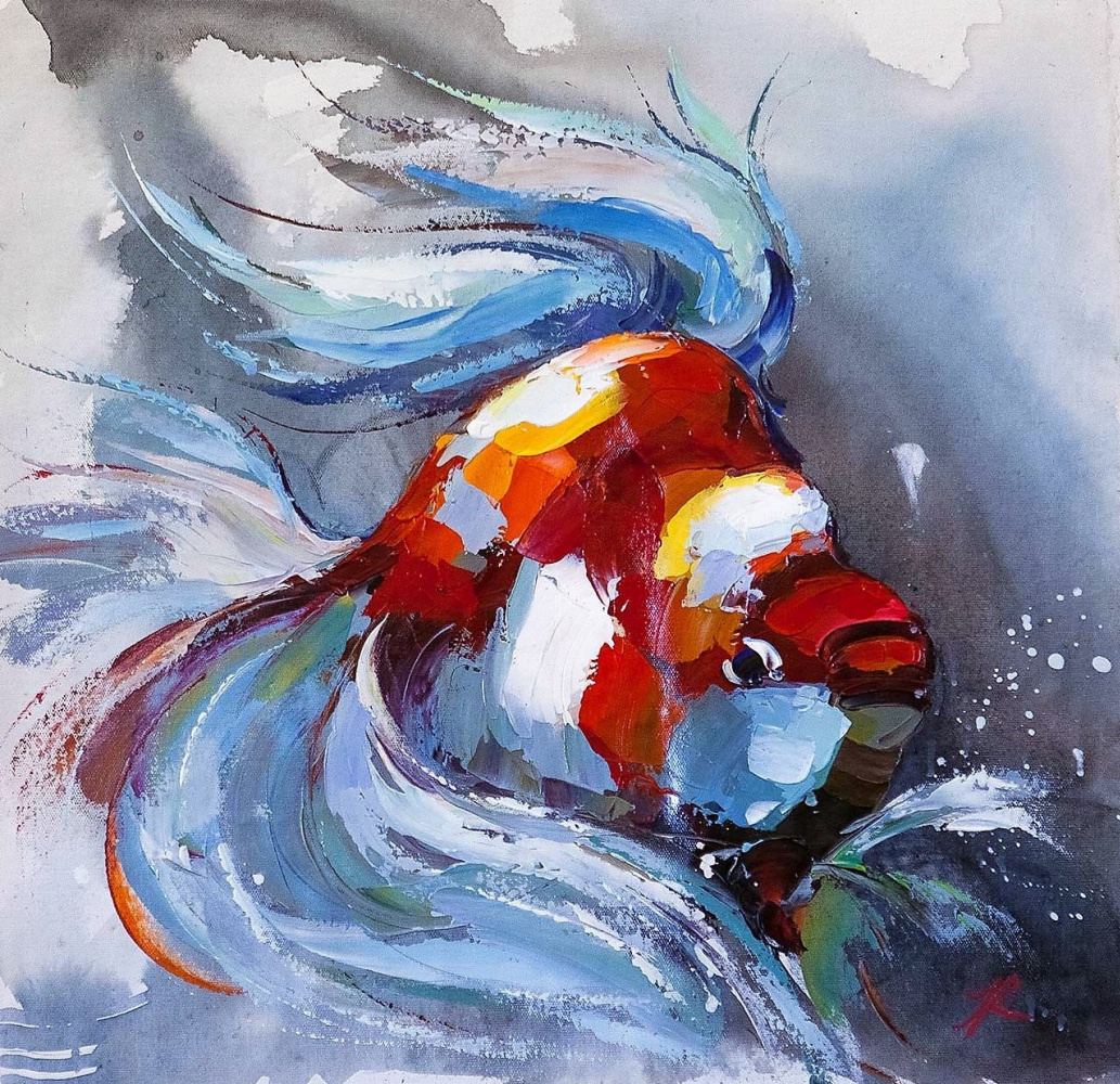 Jose Rodriguez. Goldfish for the fulfillment of desires. N11