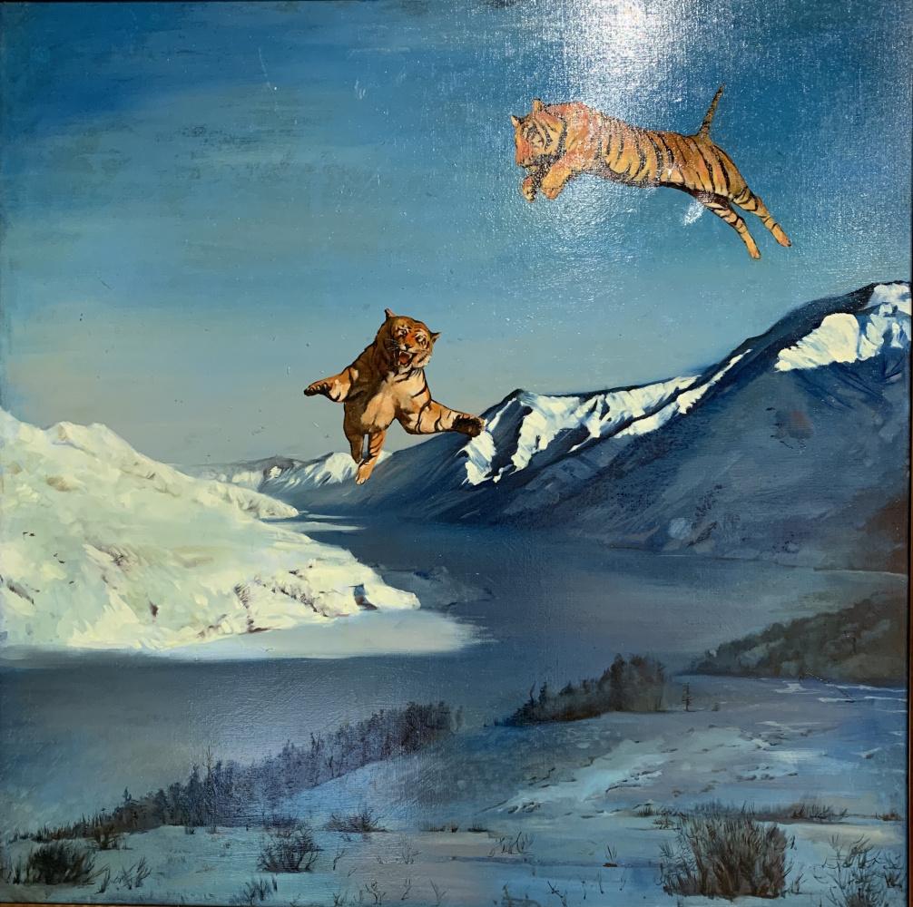 Arutiun Akobyan. Amur tigers