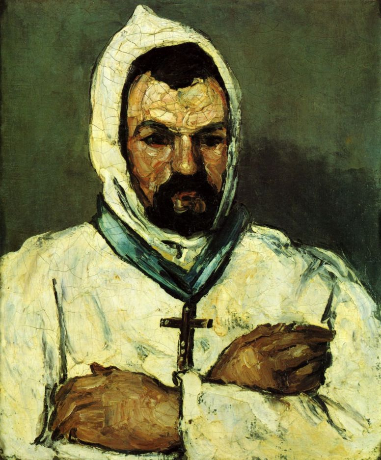 Поль Сезанн. Портрет дяди Доминика в монашеском облачении