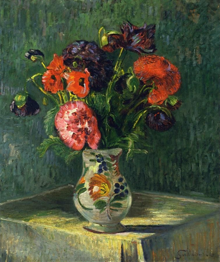 Armand Guillaumin. Still life with flowers
