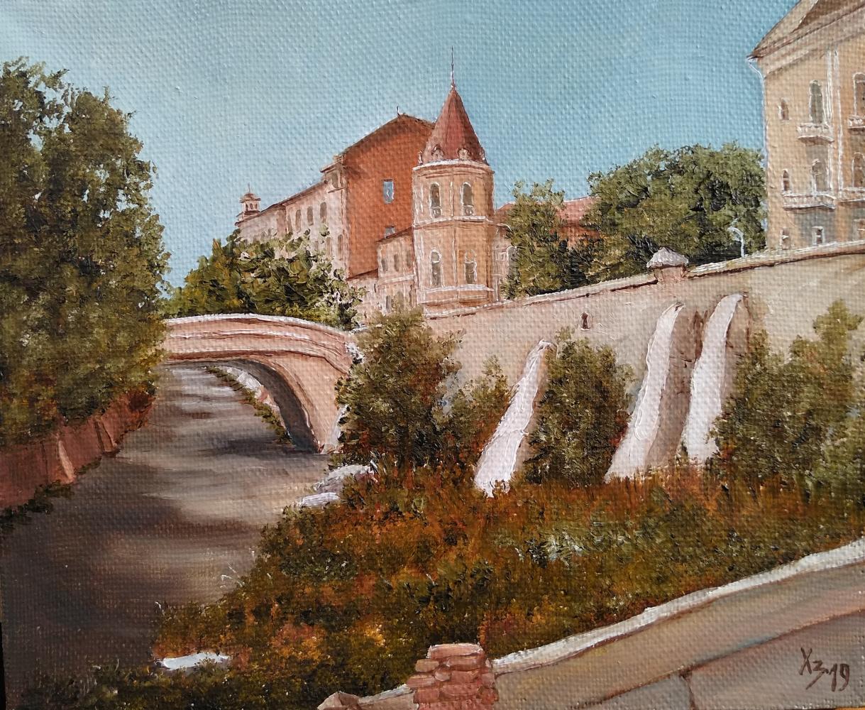 Сергей Николаевич Ходоренко-Затонский. Stone Bridge, 80s