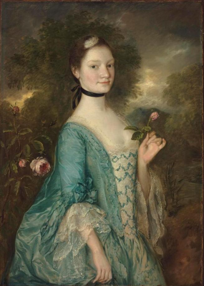 Thomas Gainsborough. Sarah, lady Innes
