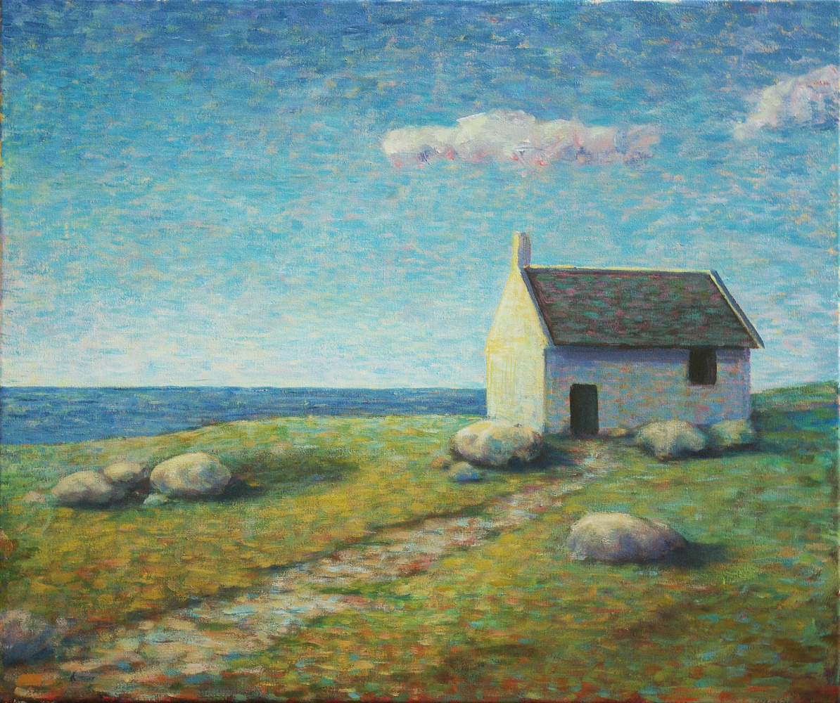Natalia Bagatskaya. House by the sea