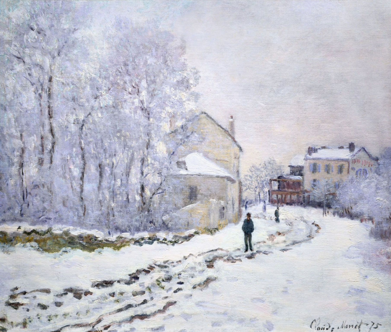 Claude Monet. Snow at Argenteuil