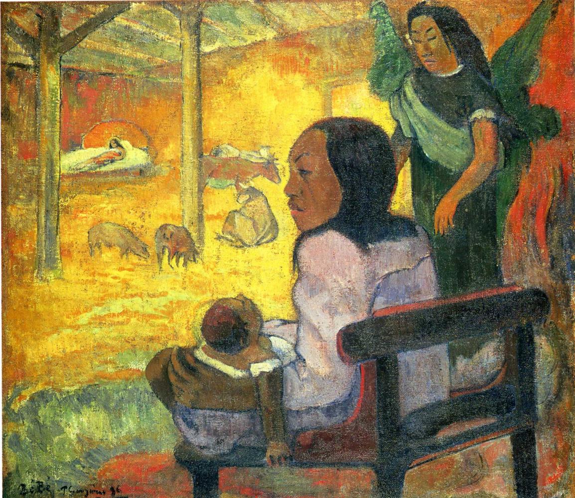 Поль Гоген. Рождение таитянского Христа
