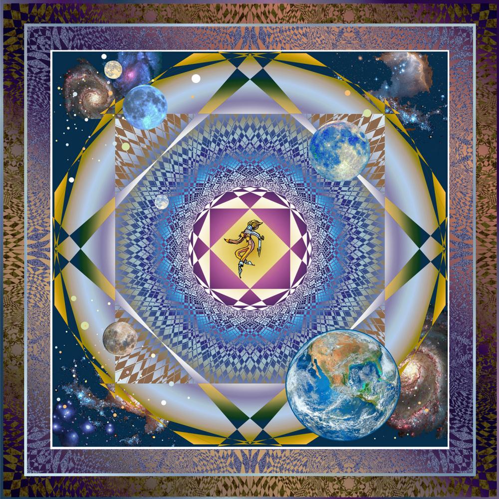 Юрий Николаевич Сафонов (Yury Safonov). The Wheel of Fortune or the space horoscope of the Artist