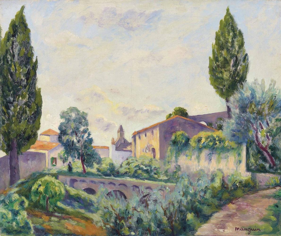 Henri Manguin. Saint-Paul de Vence