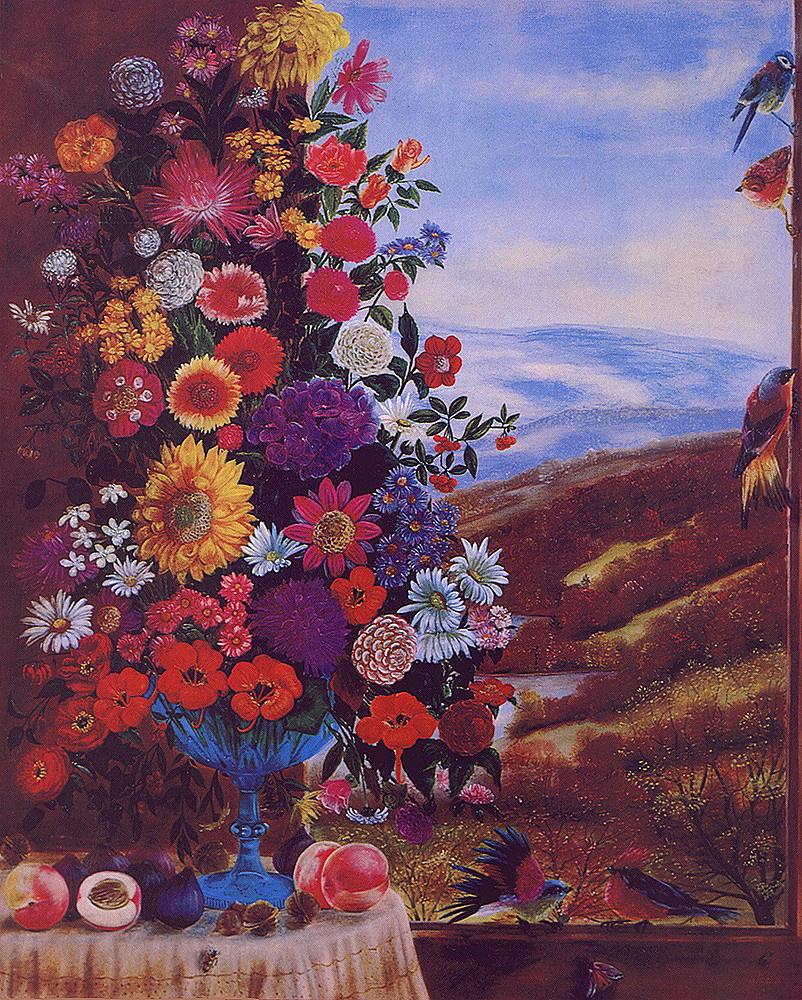 Jacques Chuteau. Winter bouquet