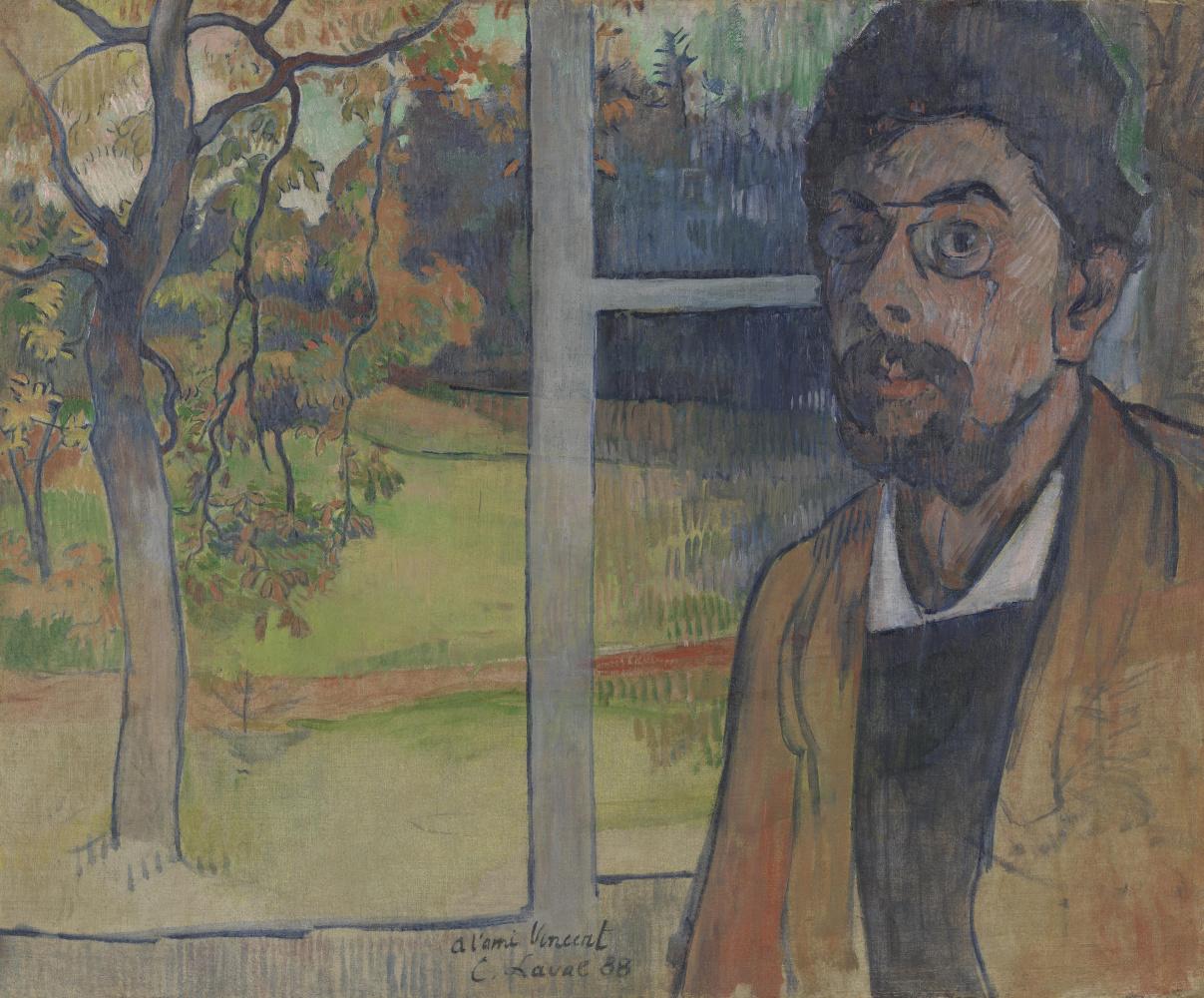 Charles Laval. Self-Portrait
