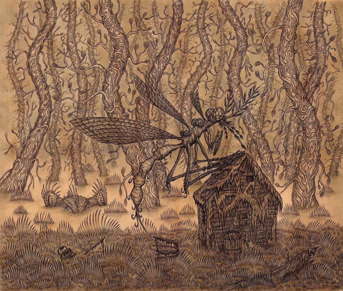 Vladimir Vladimirovich Khablovsky. Mosquito on the house