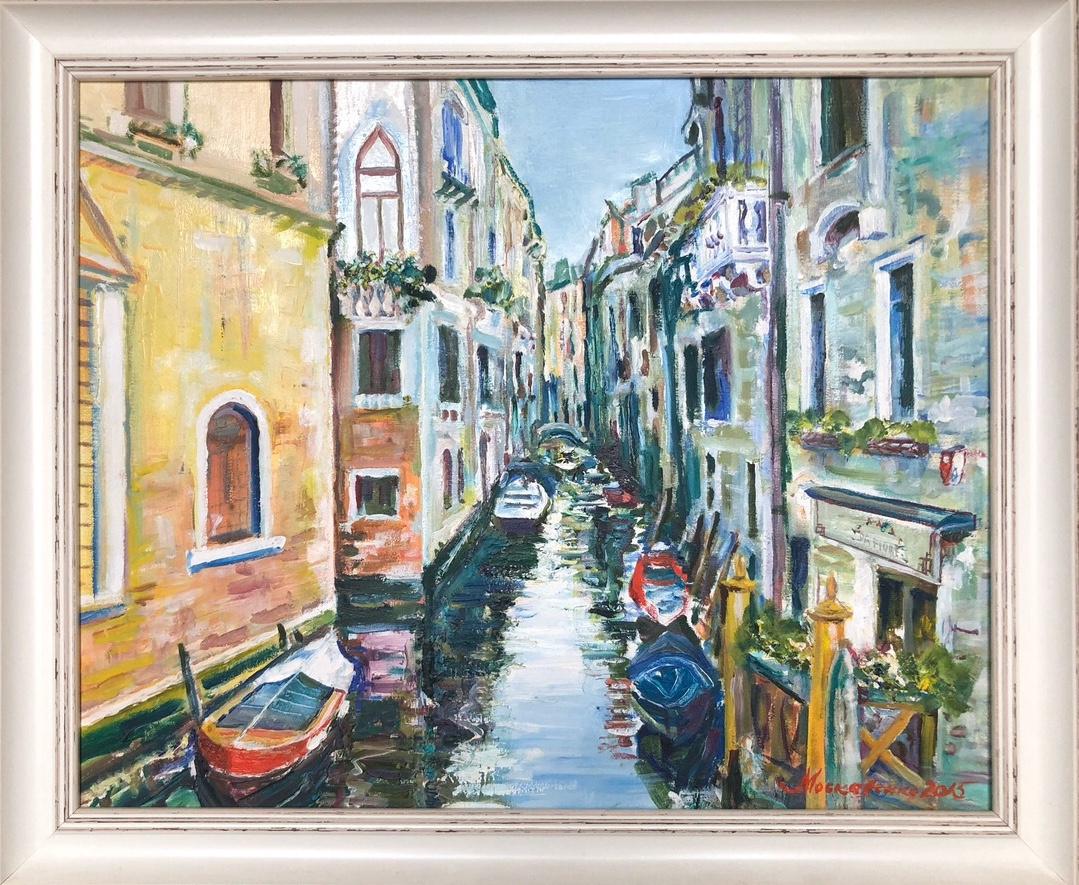 Alexey Pavlovich Moskalenko. Venice Canal