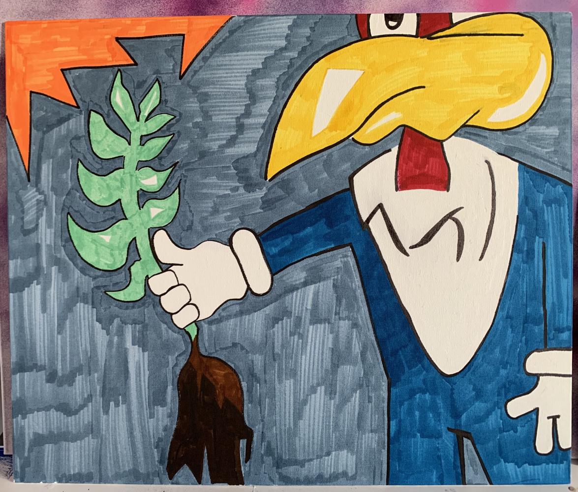 Woody Woodpeckerson. Grower