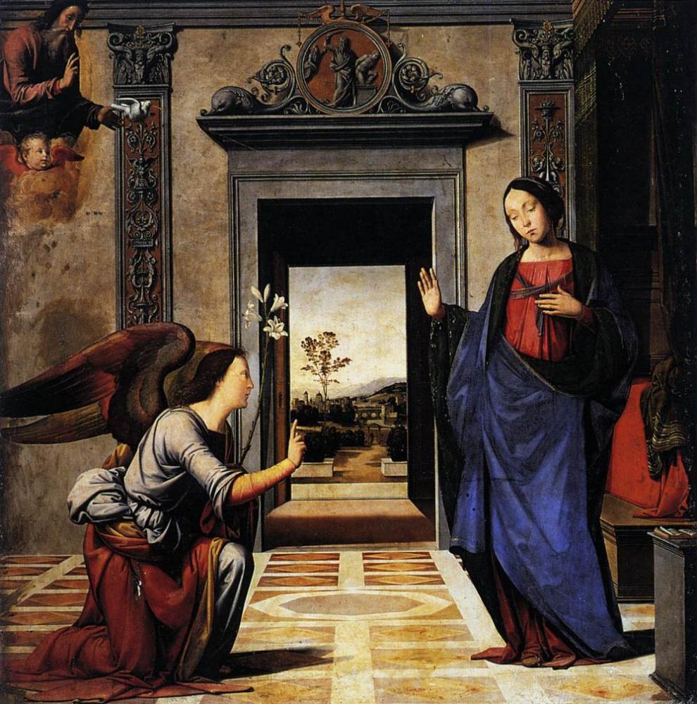 Фра Бартоломео. Annunciation