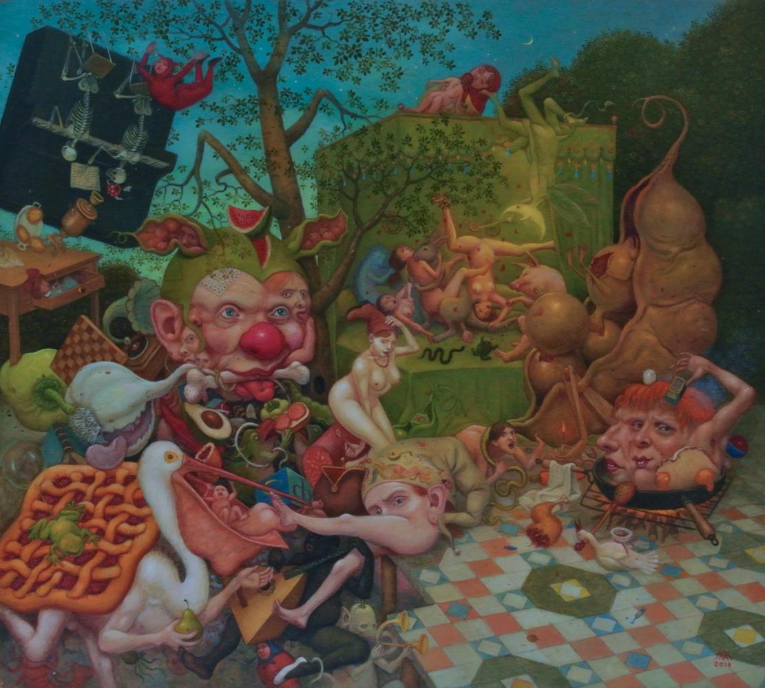 Михаил Лобырев. Fructus Temporum No. 2 (Fruit of the Time)