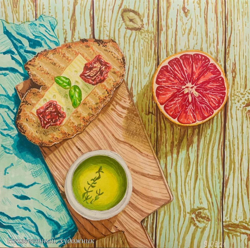 Unknown artist. Snack!