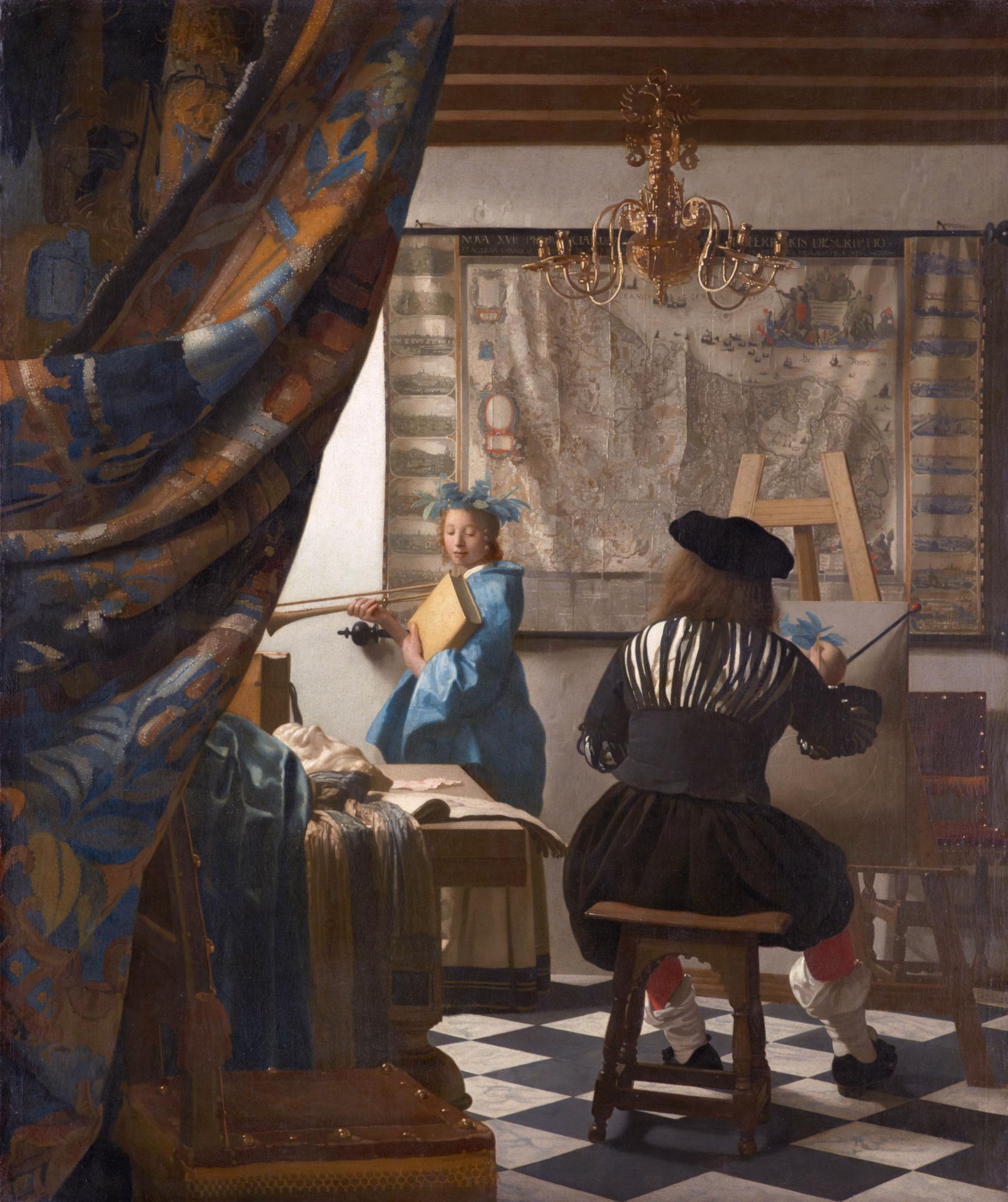 Ян Вермеер. Мастерская художника (Аллегория живописи)
