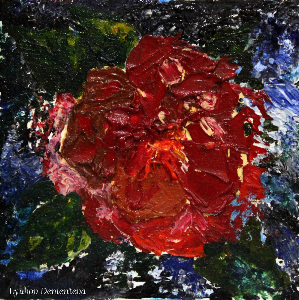 Lyubov Dementeva. Красный цветок