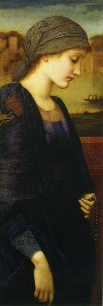 Edward Coley Burne-Jones. Flamma Vestalis