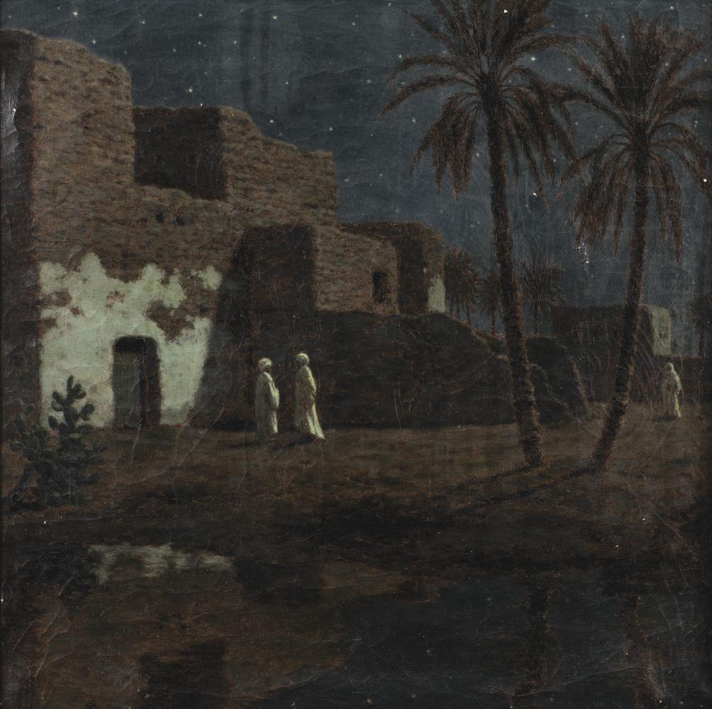 Ivan Choultsé. Cairo by night