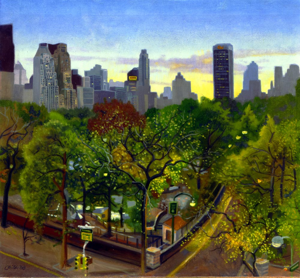 James Childs. Twilight in Central Park