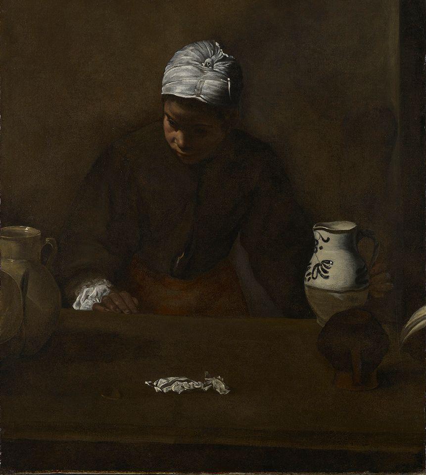 Диего Веласкес. Кухонная служанка (приписывается)