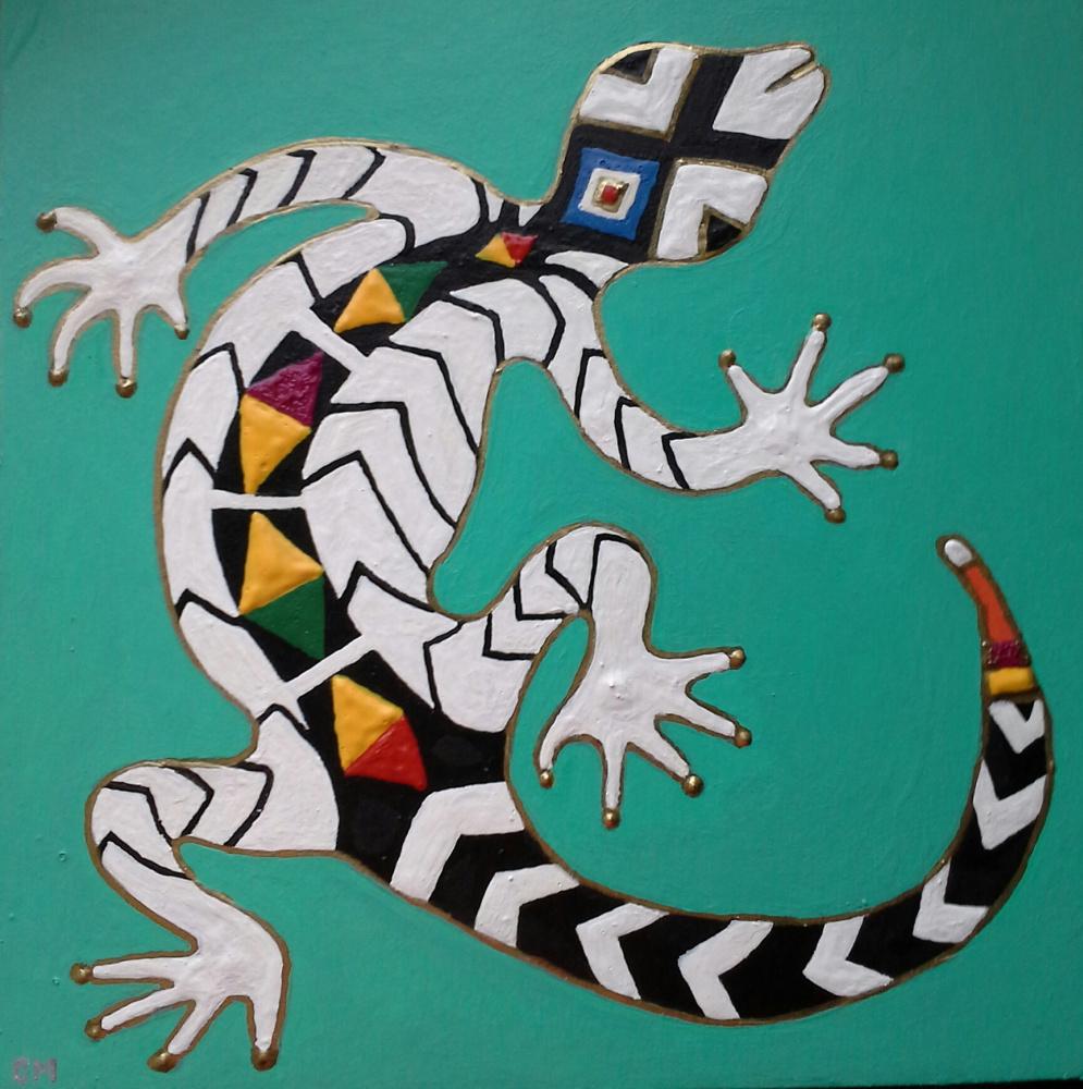 Svetlana Makarova. Lizard