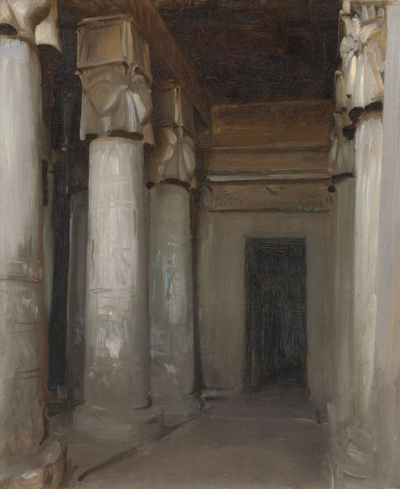 Джон Сингер Сарджент. Храм в Дендере
