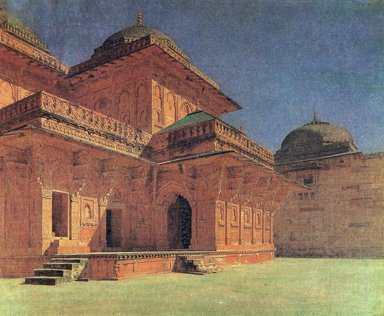Vasily Vereshchagin. Birbal's house in Fatehpur Sikri