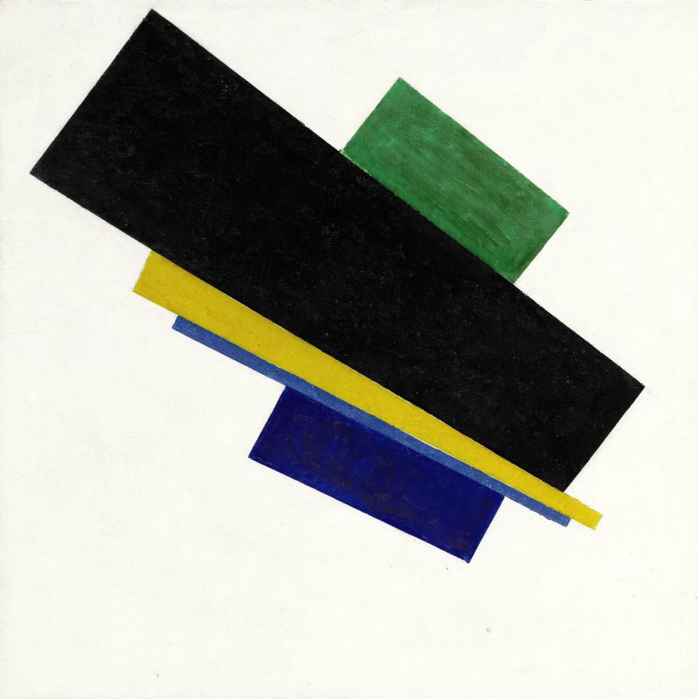 Kazimir Malevich. Suprematism 18th construction