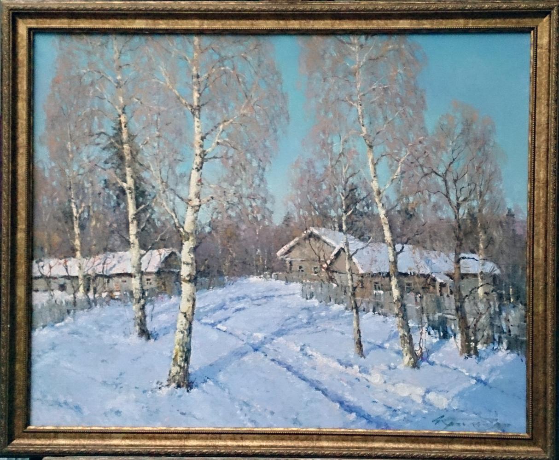 Alexander Markovich Kremer. Frosty morning