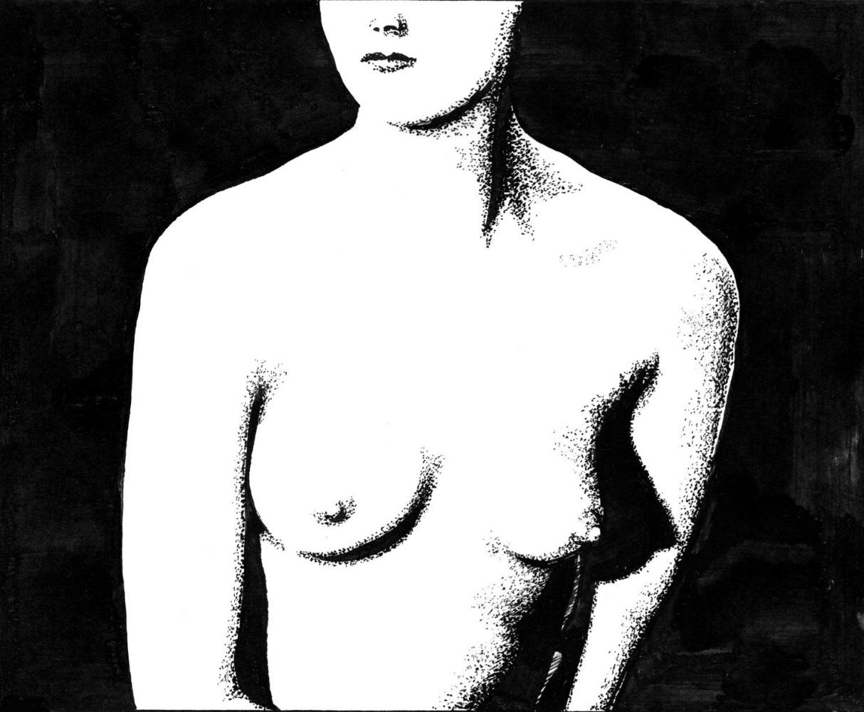 Vladimir Vasilyevich Abaimov. Nude Silhouette