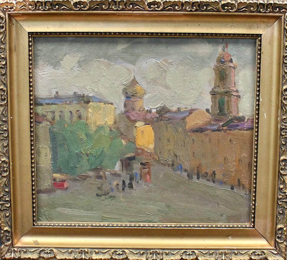 Fedor Fedorovich Melnikov. City landscape