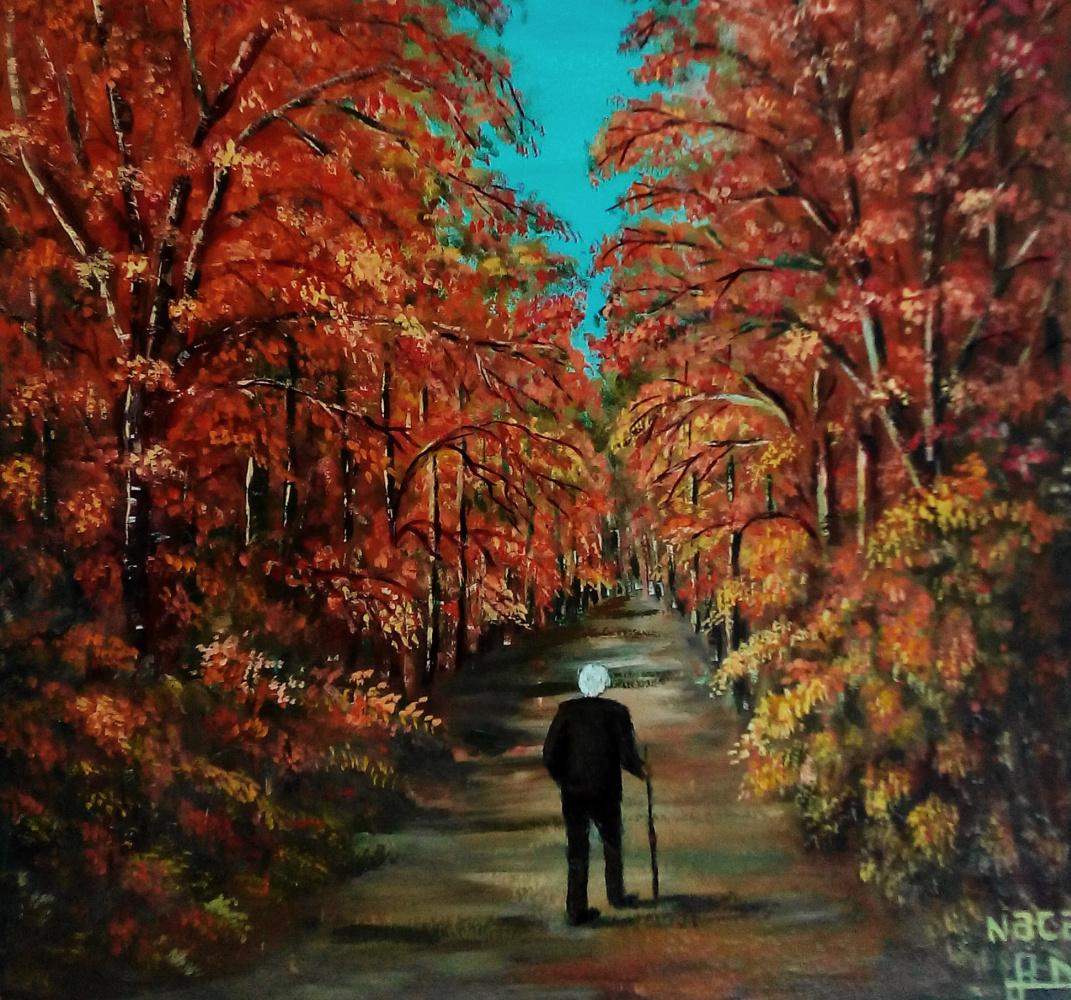 Najaf Mamedali oglu Mamedov. Autumn