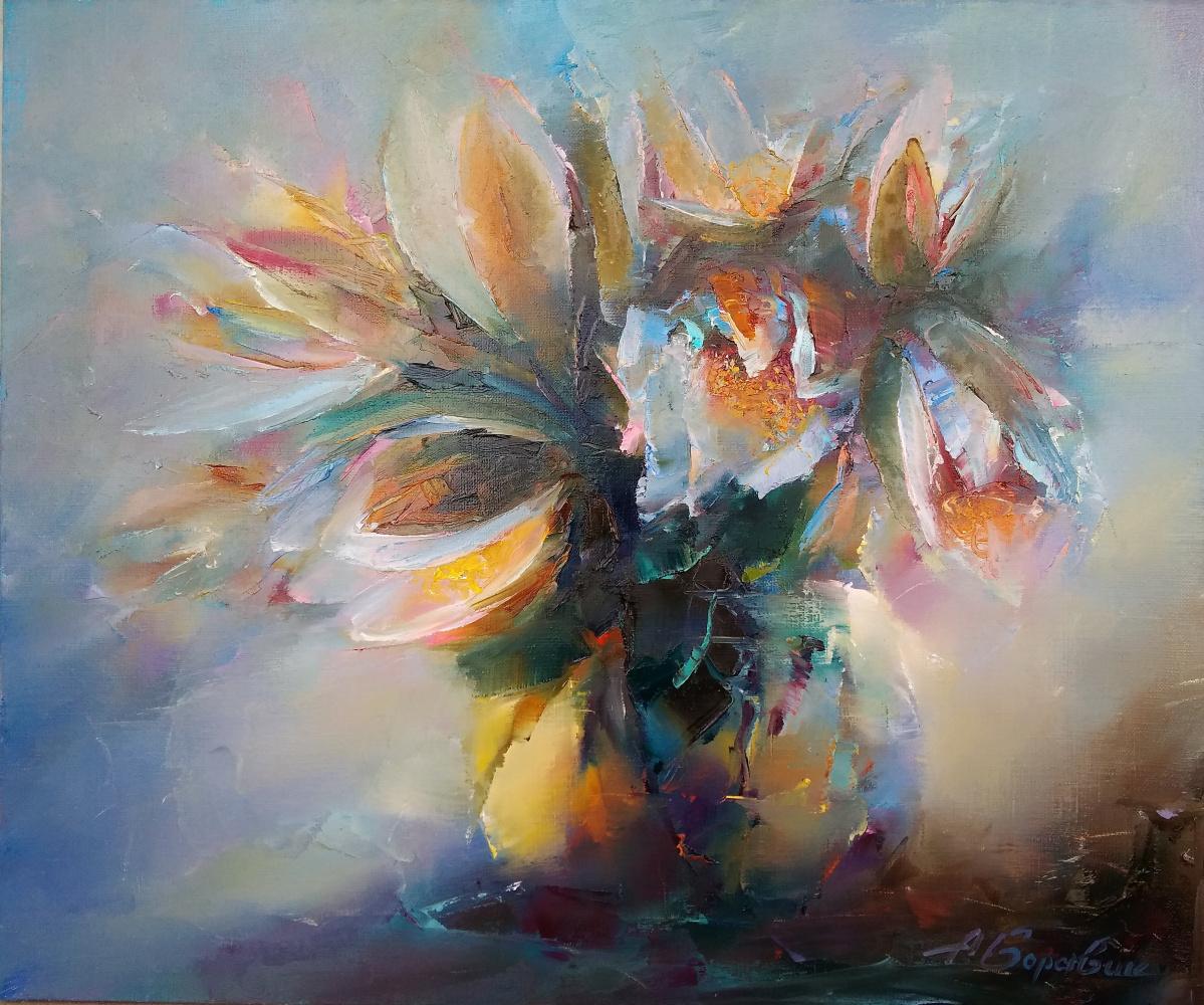 Andrei Ivanovich Boravik. Lilies