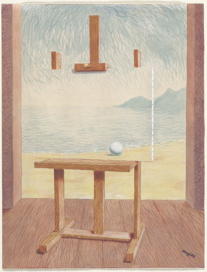 René Magritte. The Human Condition