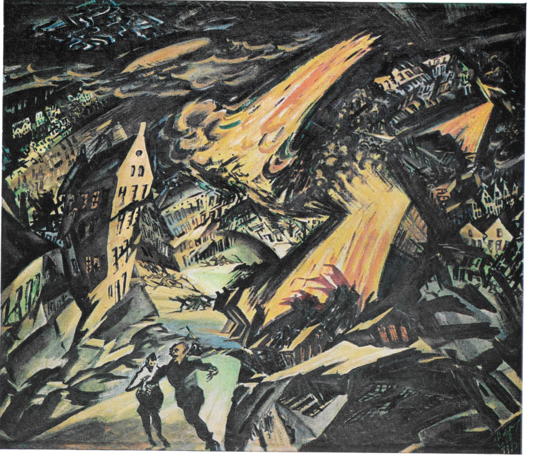 Ludwig Maidner. Apocalyptic Landscape