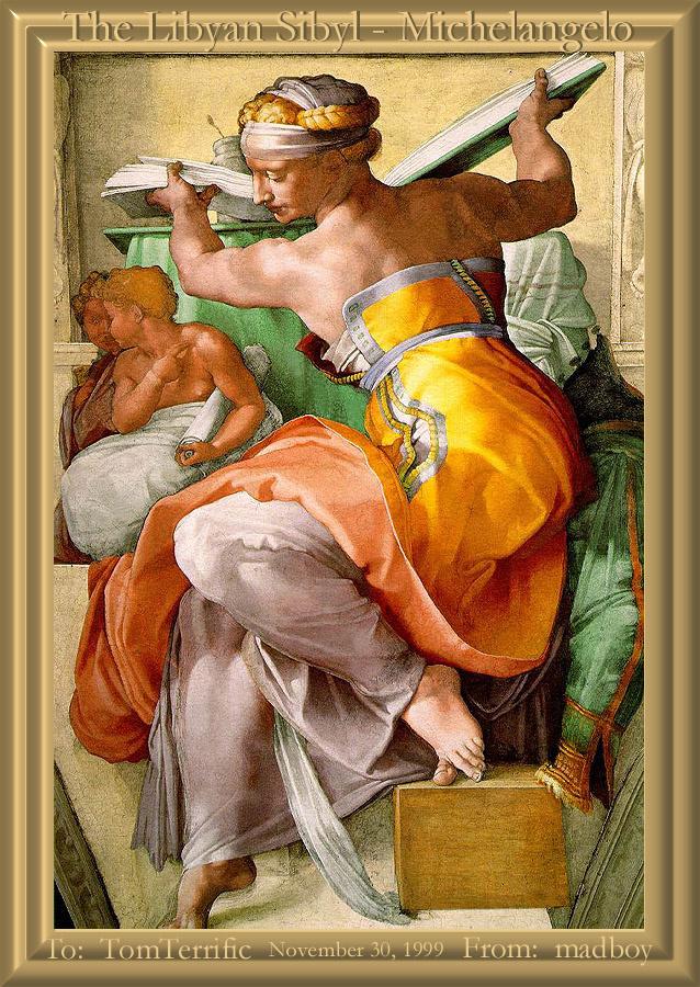 Микеланджело Буонарроти. Сюжет 13