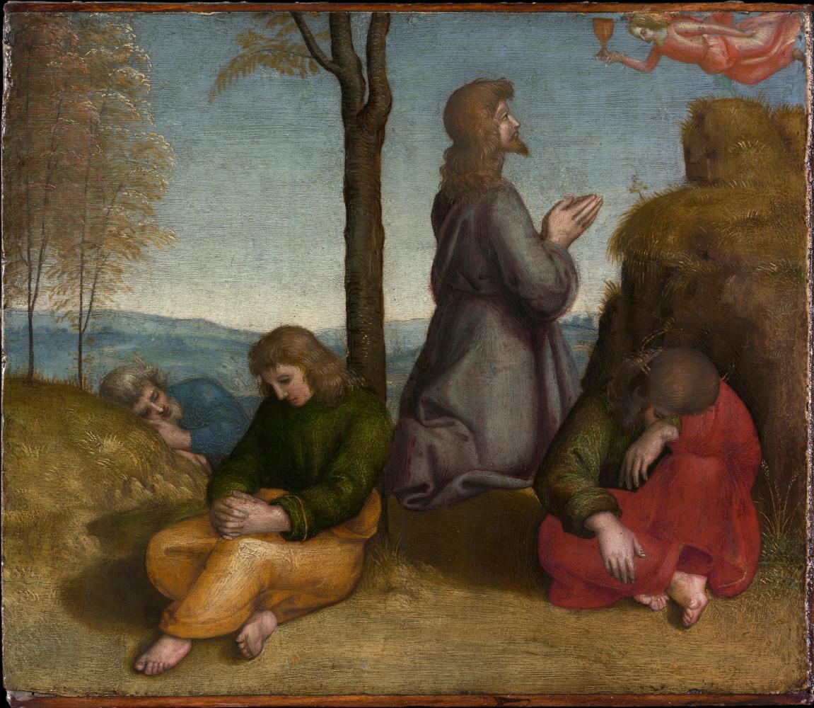 Raphael Sanzio. The agony in the garden of Gethsemane