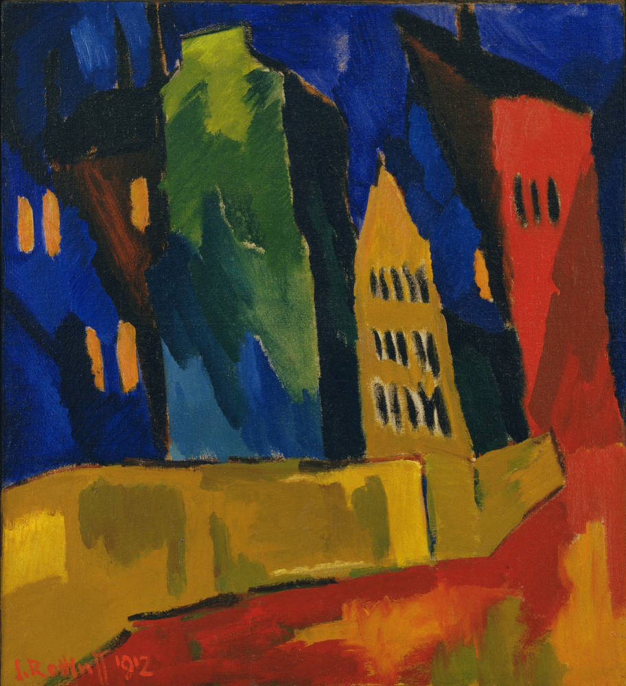 Karl Schmidt-Rottluff. At night
