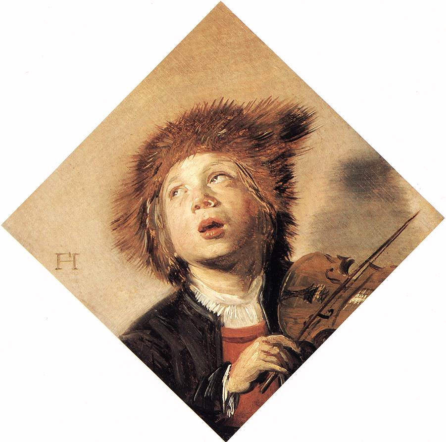 Frans Hals. Boy playing the violin