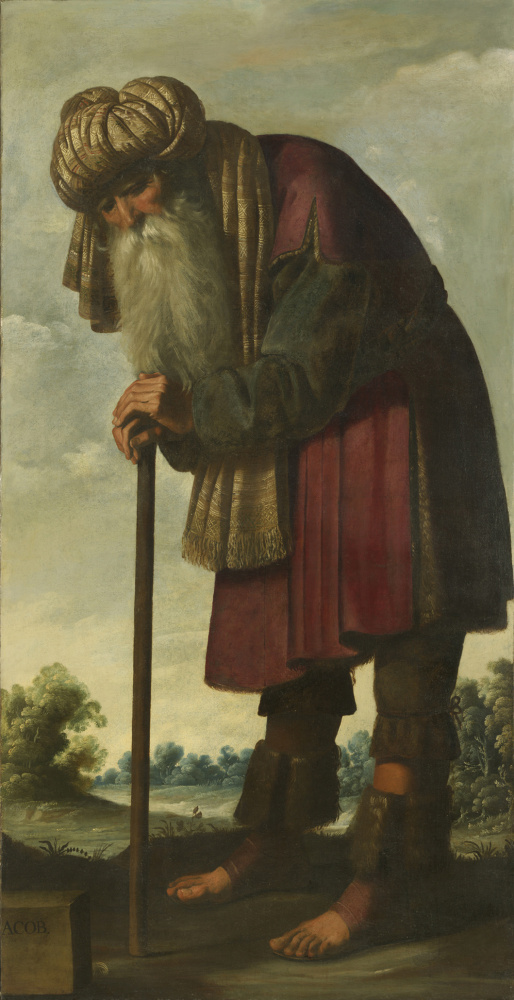 Франсиско де Сурбаран. Иаков из серии «Иаков и его двенадцать сыновей»