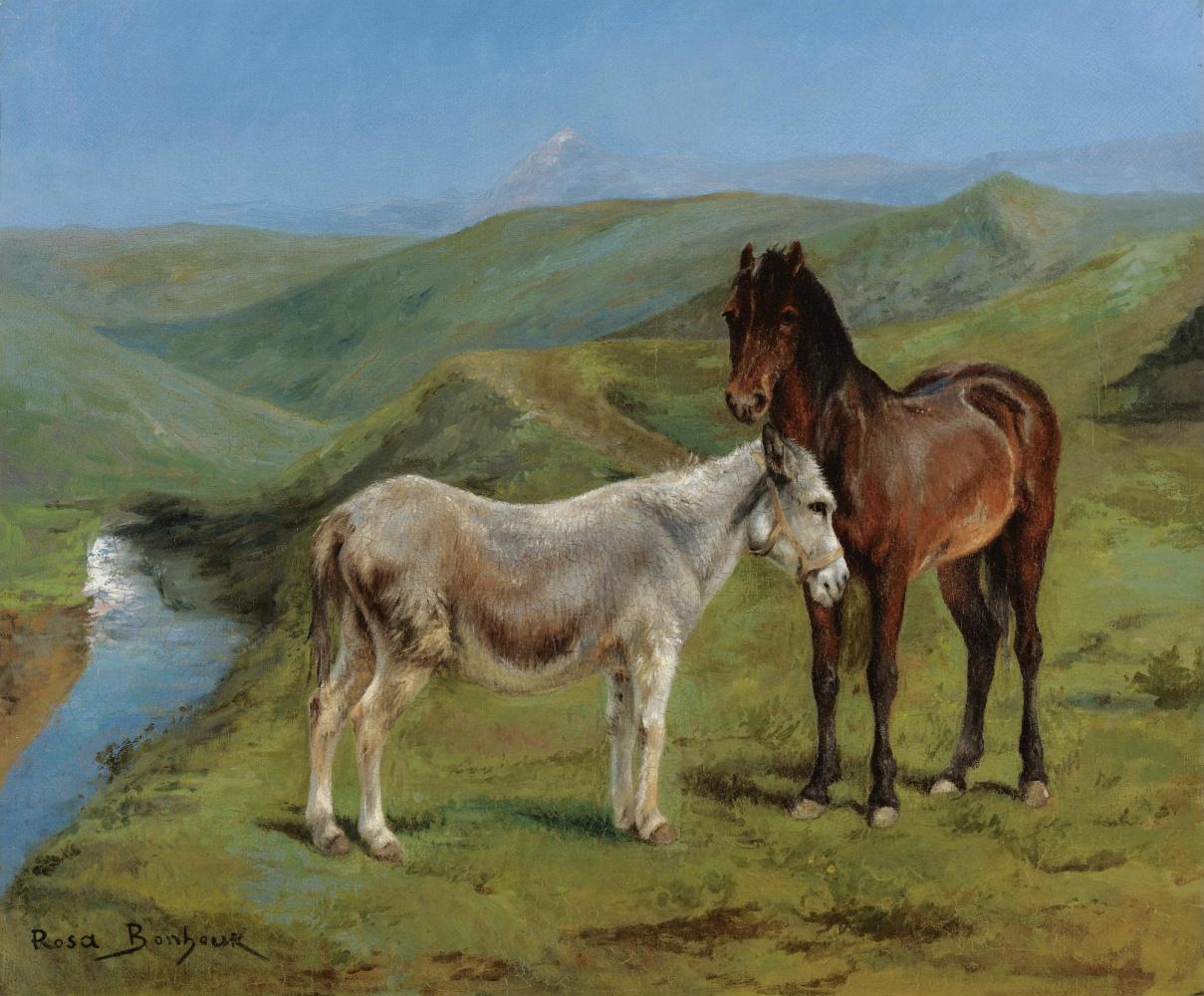 Rose Bonhur. Pony