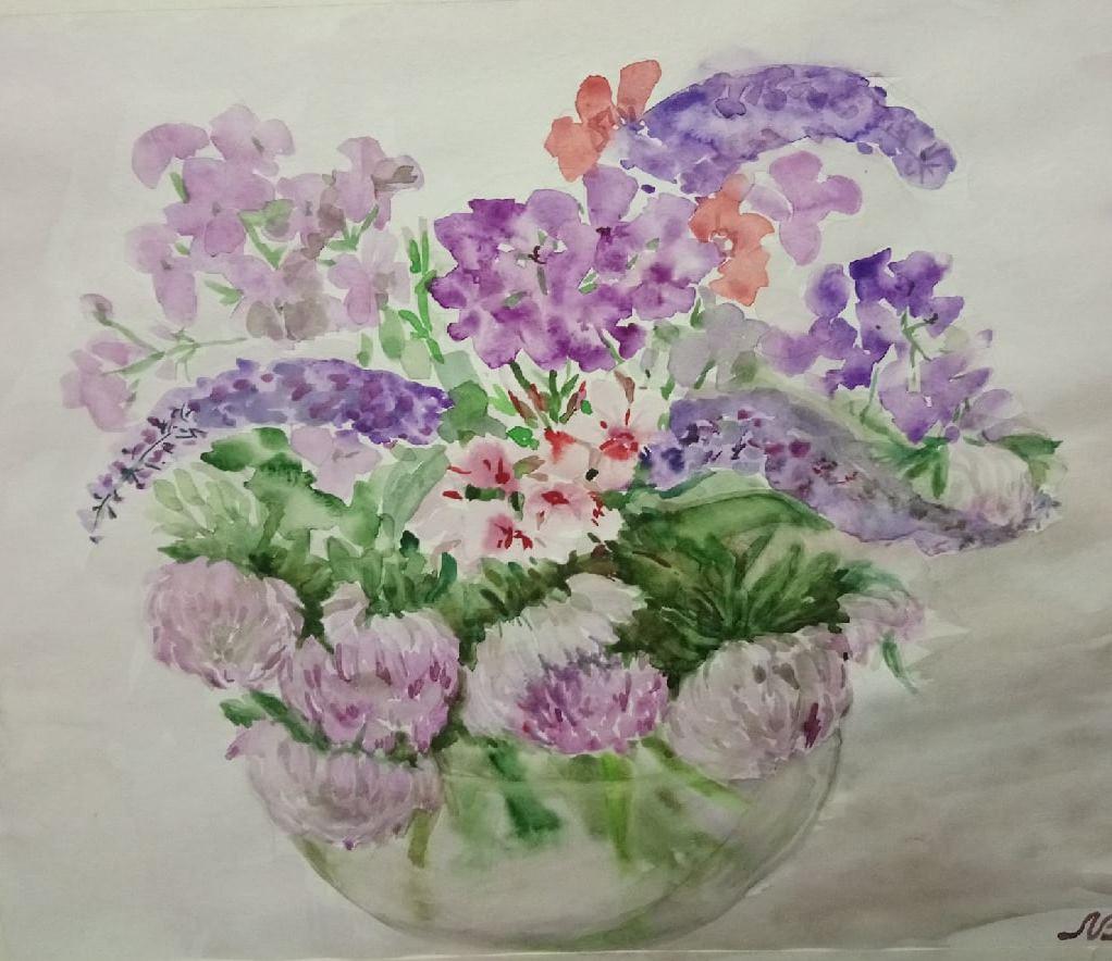 Lyudmila Voloshin. Цветы августа