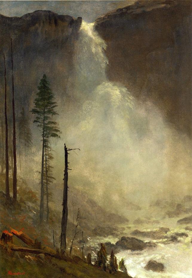Альберт Бирштадт. Водопад Невада