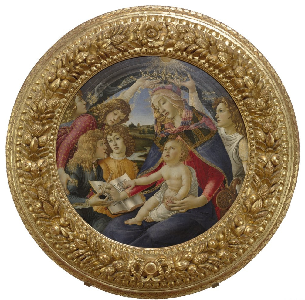 Sandro Botticelli. Madonna Of The Magnificat