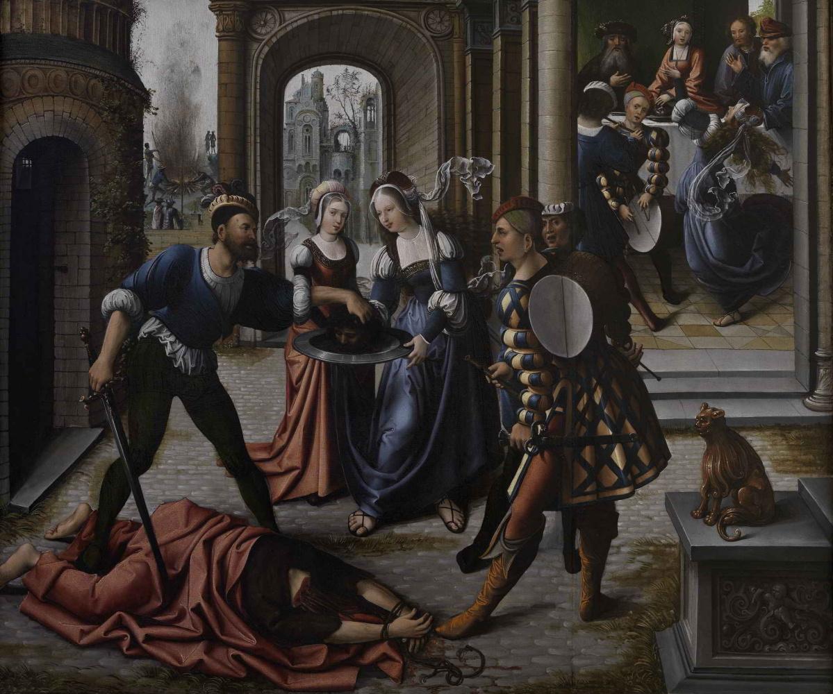 Bernart Van Orley. The Martyrdom of St. John the Baptist