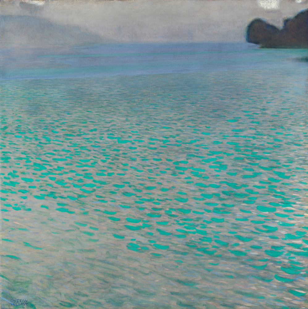 Густав Климт. Озеро Аттерзее