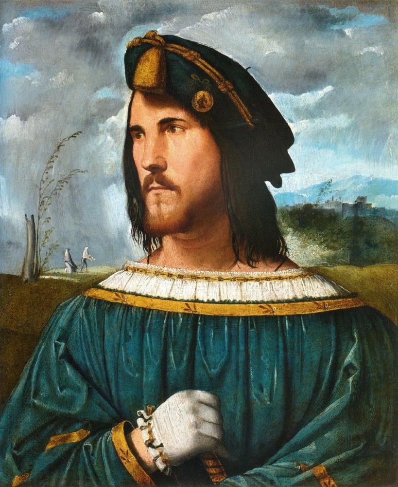Альтобелло Мелоне. Портрет Чезаре Борджиа